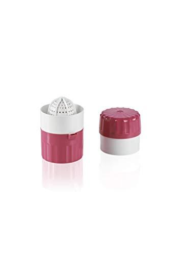 Saftpresse (pink) für frische, vitaminreiche Obst- und Gemüsesäfte - BPA frei
