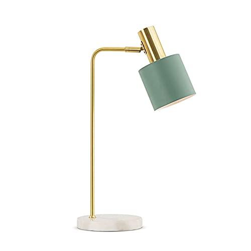 Lámpara de mesita de noche Lámparas de escritorio Dormitorio de estilo nórdico Lámpara de mesa sencilla posmoderna luz de lujo creativo personalidad moda lámpara lámpara lámparas de mesa 21.6 pulgadas