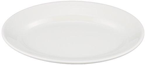 Saturnia Tivoli Plateau ovale 28 cm Blanc