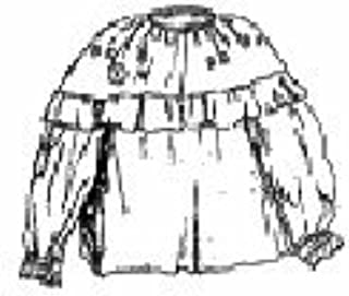 1780-1830 Woodland Indian Ladies Blouse Pattern