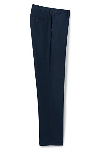 Lands' End Men's Traditional Fit Comfort First Knockabout Chino Pants 36 30 Radiant Navy