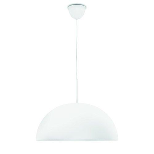 Philips 409073116 Rye Luminaire d'Intérieur Suspension LED Métal Blanc 8 W