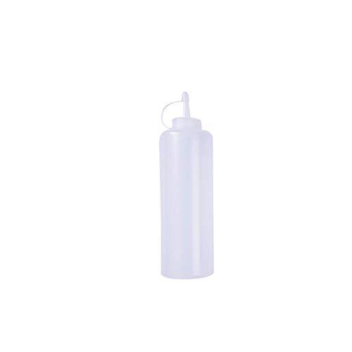 Apriete la botella, Botella de compresión de crueraz respetuoso con el medio ambiente con tapa Patrones seguros BBQ Ketchup Salsa Dispensador Botellas de Castor Herramientas de cocina para salsa de to