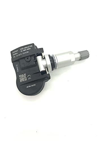 HUIHUI Store 4pcs 43 3MHz 40700-0435R S180052064Z TPMS Sensor de presión de neumáticos for Renault Megane Laguna Fluence Latitude 407003743R 407000435R