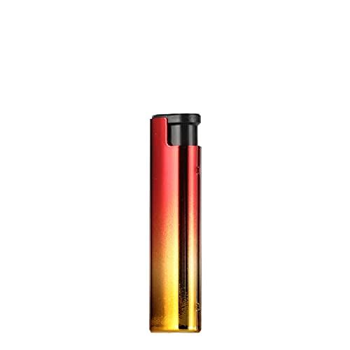 Encendedor de cigarrillos decorativo, encendedor de cigarrillos, encendedor de camping al aire libre, apto para cigarrillos, velas, cocina