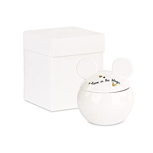 Bomboniere Disney Original - Azucarero de Mickey de porcelana de 8 quilates