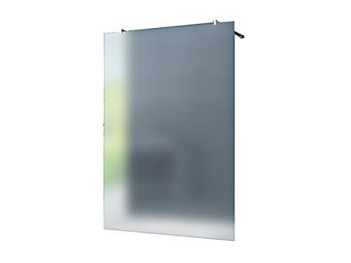 Freistehende 10 mm Duschabtrennung Düsseldorf - Milchglas, Frost 140 x 200 cm/Walk-In Duschtrennwand Duschwand Dusche