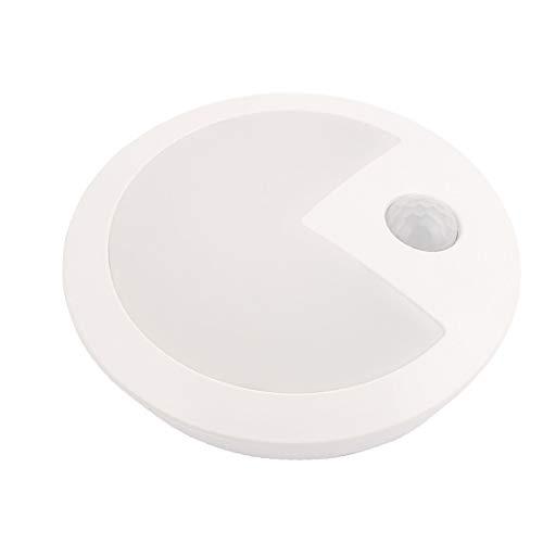 X-DREE Round 3xAAA Sound LED a infrarossi per lampada induttiva umana(Lámpara Inductiva Humana Infrarroja LED de Sonido Redondo 3xAAA