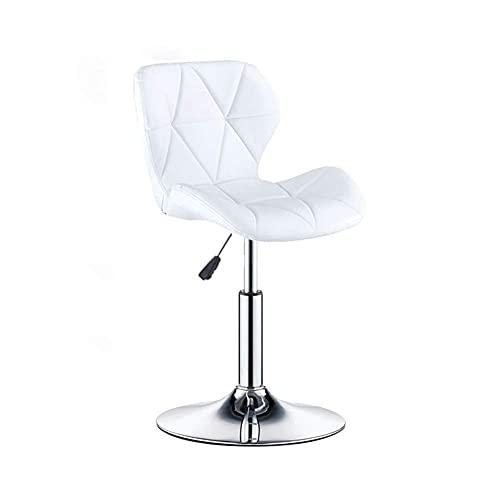 QLIGAH Taburete giratorio para bar, silla de oficina, silla de escritorio, silla de comedor, silla de oficina, giratoria de altura