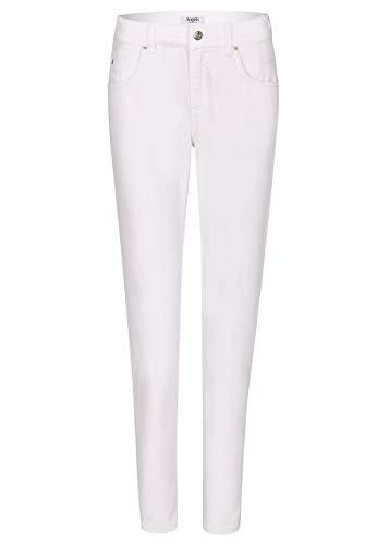 Angels Damen Jeans Cici Regular Fit Weiss (10) 40/30