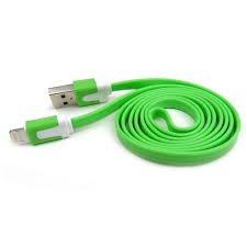 Madera de fresno Original 2m verde Lightning 8pines soporte de carga y...