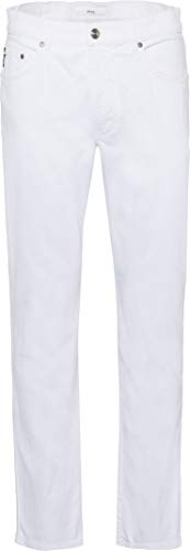 BRAX Herren Style Cooper Colour Denim Jeans Five Pocket Hose, White, W34/L30 (Herstellergröße: 34/30)
