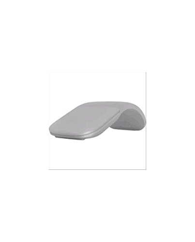 Microsoft ARC Touch Mouse Bluetooth PERP - Ratón (Ambidextro, Blue Trace, Bluetooth, 1000 dpi, Gris)
