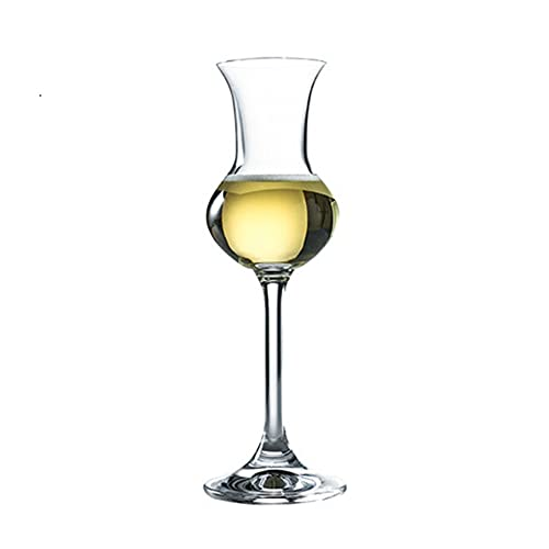 Iinger Italia RCR Crystal Copita Nasting Cobla Sherry Copas de Vino Sommeliers Whisky Whisky Oler Smell Tasting Glass Body Champagne Cup (Capacity : 80ml, Color : 1 Pcs)
