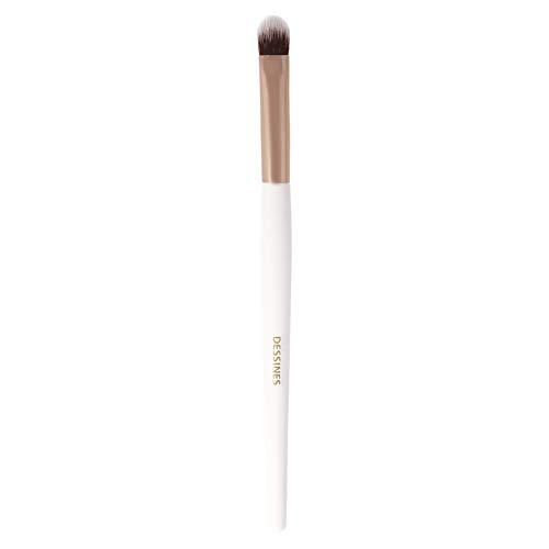 Dessines - Brocha de maquillaje sintética profesional, brocha para artista, brocha para ojos, sombra de ojos, delineador de ojos, doble corrector, brocha de maquillaje (base de sombra de ojos WG780)