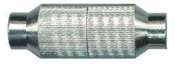 VS-ELECTRONIC - 611013 Koaxial-Kabelverbinder, Metall, Störstrahlsicher TR835011M