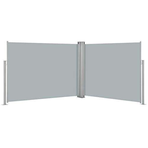 vidaXL Ausziehbare Seitenmarkise Anthrazit 170 x 1000 cm