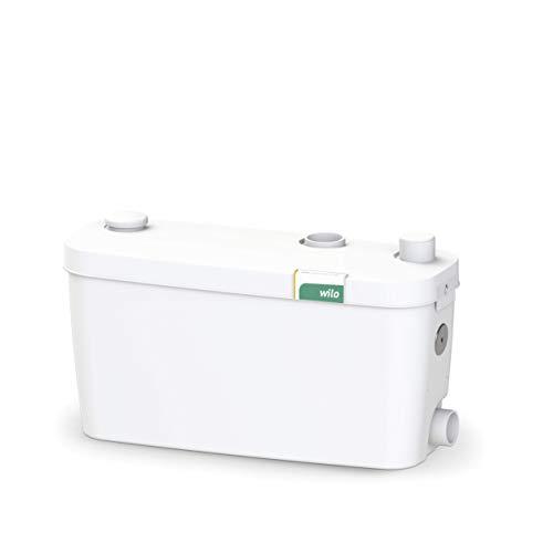 Preisvergleich Produktbild Wilo-HiDrainlift 3-35,  kompakte Abwasser-Hebeanlage für Schmutzwasser ohne Fäkalien zur Entwässerung von Duschen,  Waschmaschinen,  Spülmaschine und Waschbecken,  3 Anschlüsse,  5500l / h,  0,  7 bar,  400W