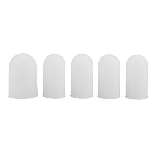 Qiter Protector de Dedos, 5 Piezas de Silicona Protector de