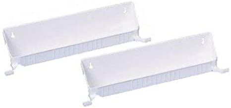 Rev-A-Shelf RS6562.14.11.52 Tab Stop 2 Tray Kits-White