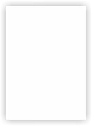 Magnetfolie I DIN A3 I 0,85mm | Semi anisotrope, weiß beschichtet, flexibel, Magnetkraft für Auto, LKW, Fahrzeuge, Kühlschrankmagnet | Digitaldruck bedruckbar | mag_111