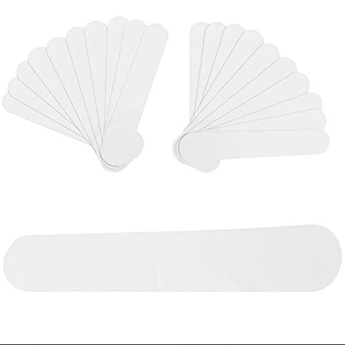 20 piezas desechables protectores de cuello almohadillas antisudor, almohadillas antisudor el cuello almohadillas antisudor cuello camisa almohadilla protectora desechable el cuello(blanco, Blanca)