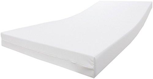 Dibapur ® Inkontinenz Standard Kaltschaummatratze 15 cm mit wasserdichtem Bezug (90 x 200 cm)