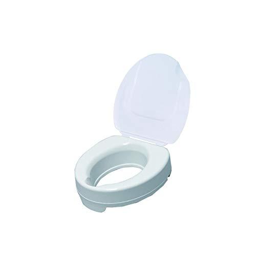 Drive DeVilbiss Healthcare Toilettensitzerhöhung mit Deckel, 15,2 cm, Weiß
