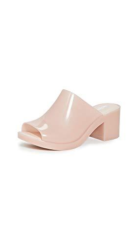 Melissa Women's Mule II Slides, Light Pink Matte, 6 Medium US