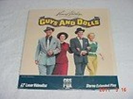 GUYS AND DOLLS EXTENDED PLAY LASERDISC 1983