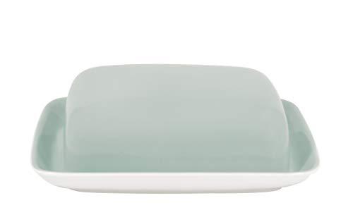 Kahla Pronto Colore mint-grau Butterdose eckig