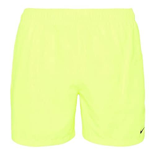 Nike Volley - Costume da Bagno da Uomo, Uomo, Costume da Bagno, NESSA560-737, Giallo, L