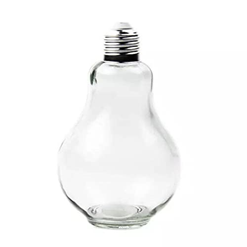 SUTIA Taza de agua de cristal, bombilla creativa jarra de vidrio, botella de bebida, botella de jugo. taza de bebida especial 150 ml