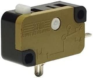 SAIA-BURGESS XGG3-88-Z1 Micro Switch, Plunger, 1CO, 16A, 250V