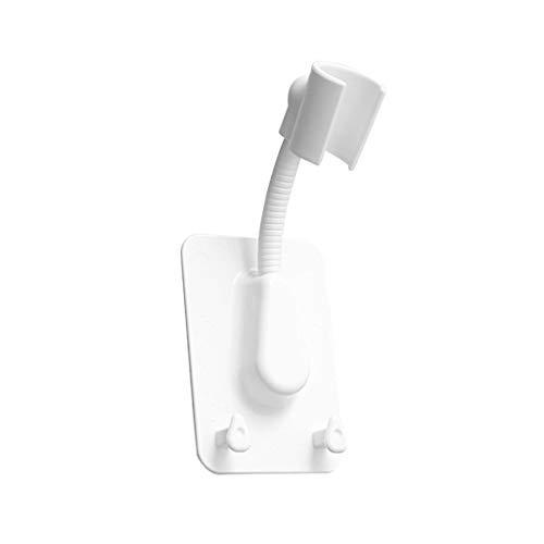 YWSZJ Cuarto de baño Ajustable Mano Soporte de Cabeza de Ducha Montaje de Brazo Movimiento Soporte Movible Showerseat Holder Soporte Ajuste Ventosa de succión (Color : B)