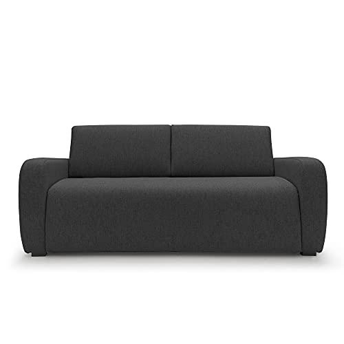 Sofá cama de 3 plazas modelo cama individual con colchón plegable transformable...