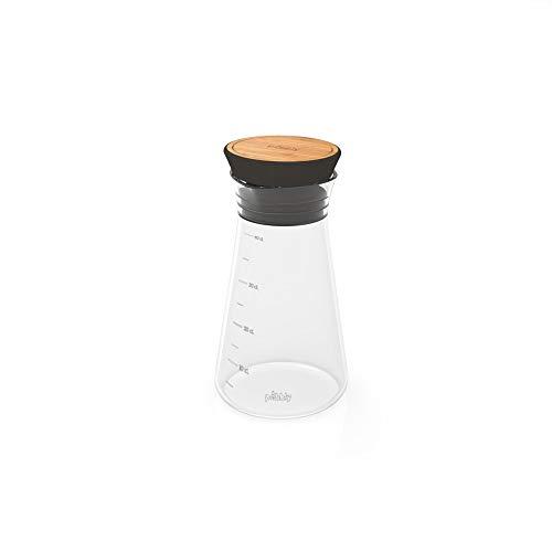 Pebbly PKS-0330N Shaker vinaigrette, Noir