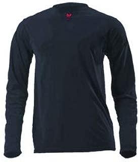 DRIFIRE Lightweight Long Sleeve FR T-Shirt, M, Navy Blue, DF2-CM-446LS-NB-MD (DF2-CM-446LS-NB-MD)