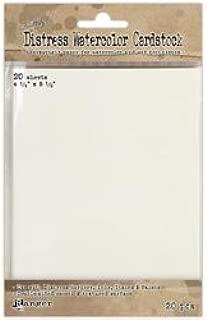 Ranger Inks Bulk Buy (2-Pack) Distress Watercolor Cardstock 20 Pack 4.25 inch x 5.5 inch TDA39549