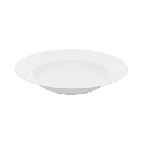 DEGRENNE 227840 Collection L Plat rond creux 30,5 cm, Blanc