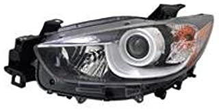 Go-Parts - OE Replacement for 2013 - 2015 Mazda CX-5 Front Headlight Assembly Housing / Lens / Cover - Left (Driver) KJ01-51-041C MA2518146 Replacement For Mazda CX-5