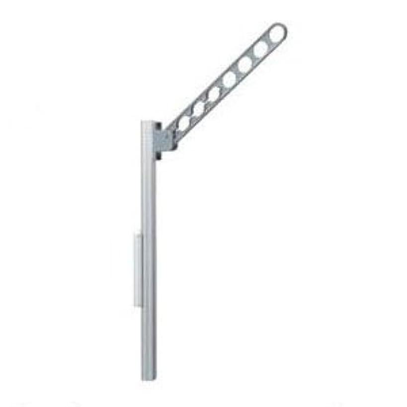 チョップ野な銛大建プラスチックス 物干金物ポール式(本体シルバー)最大荷重80kgf(2本価格)【取寄品】 ADC650EP2S