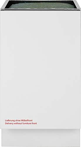 Bomann GSPE 7415 - Lavavajillas empotrable, acabado completamente integrado, 45 cm de ancho, 9 platillos a medida, 5 programas, medidor de control LED, color blanco