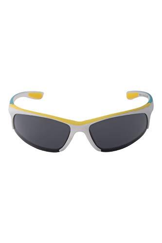 Mountain Warehouse Capre Verde Sonnenbrille - UV400-Linse, Filterbrille der Kategorie 3, leicht - Ideal für Sommerreisen, Outdoor, Wandern Weiß Einheitsgröße