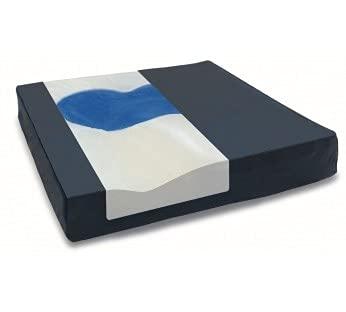 Apex Sedens |Cojín de Gel |Antiescaras | Viscoelástico| 41 x 41 | para Persona Mayores | Funda Transpirable | Materiales de Primera Calidad | Adaptable | Cómodo