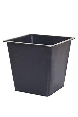 Vivanno Blumenkübeleinsatz Kunststoffeinsatz Pflanzeinsatz aus Kunststoff 19x21x21 cm