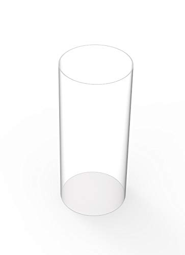 Clear 11-7//8 Polycarbonate Round Tube 2-1//4 ID x 2-1//2 OD x 1//8 Wall