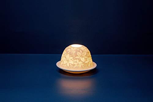 Photophore Lily Light Lily Porcelaine Blanc 13 x 12 x 8 cm