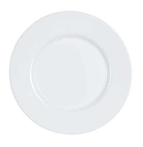 Luminarc ARC G0565 Everyday Teller flach, 19.5cm, opalglas, weiß, 6 Stück