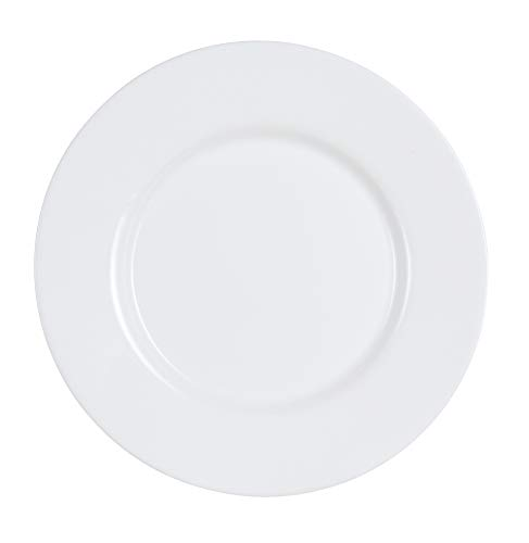 Luminarc ARC H9859 Everyday Teller flach, 26.5cm, opalglas, weiß, 6 Stück